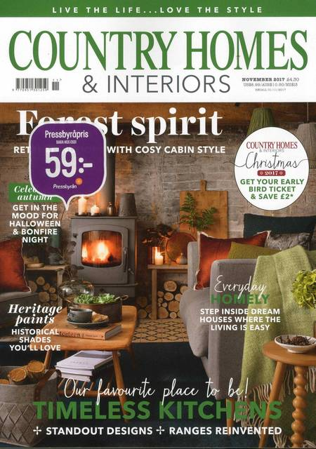 Tidningen Country Homes & Interiors