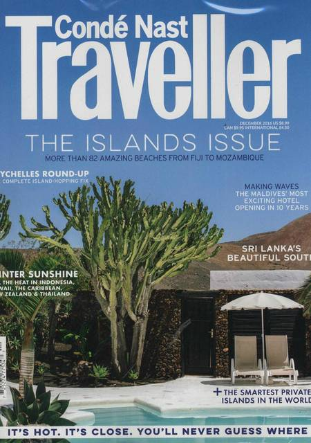 Tidningen Conde Nast Traveller (Uk)